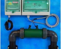 Disinfezione piscine - elettrolisi del sale