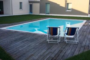 piscine interrate a skimmer