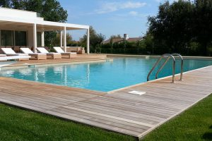 piscine interrate a skimmer