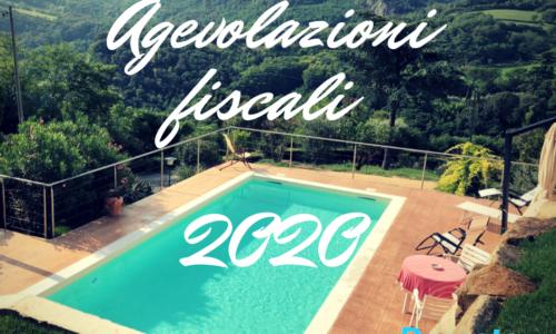 agvolazioni fiscali piscina 2020